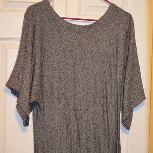 Express Lightweight Gray Sweater